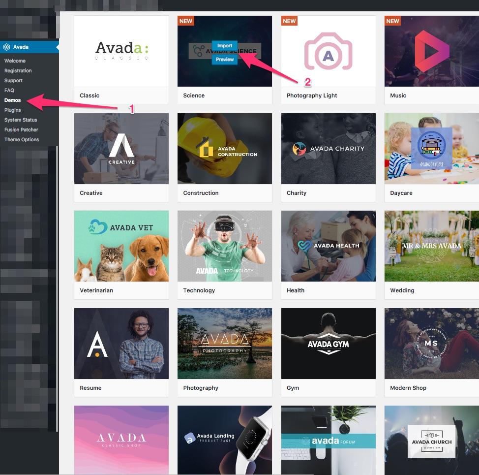 Avada WordPress Tema Kurulumu ve İncelemesi