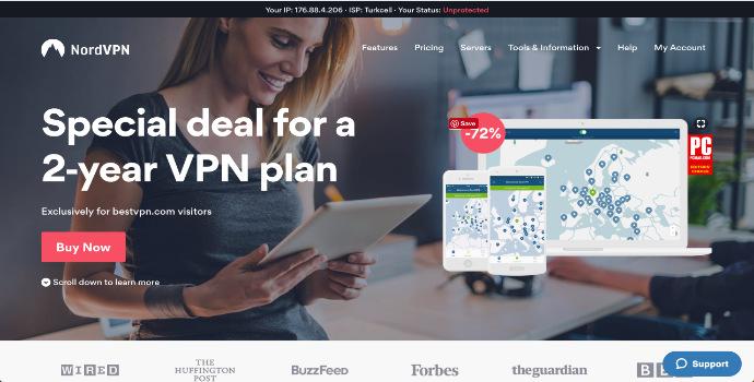 2020'de Türkiye'de Çalışan VPN Programları