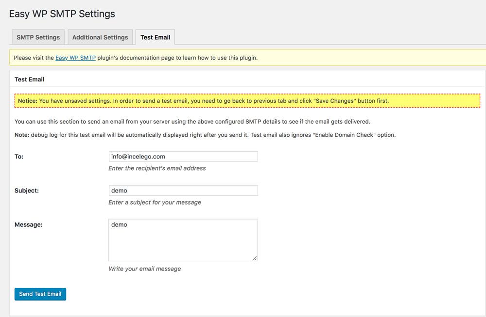 WordPress Mail Gönderme Sorunu & SMTP Ayarları