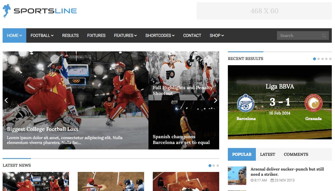 En İyi 7 WordPress Spor Temaları