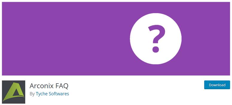 2019'Un 8 En İyi WordPress Sıkça Sorulan Sorular (SSS) Eklentileri