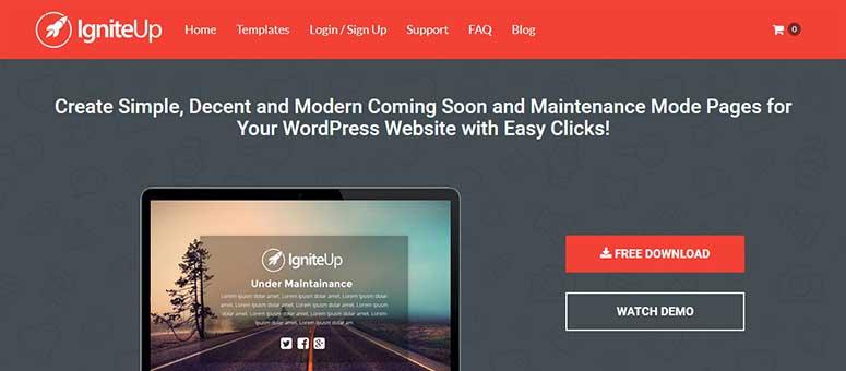 2019'Un 9 En İyi WordPress Bakım Modu Eklentileri