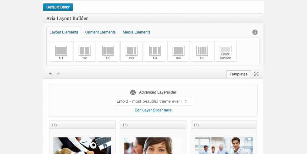Enfold Çok Amaçlı WordPress Tema İncelemesi