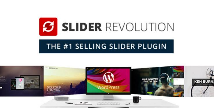 Slider Revolution WordPress Slider Eklentisi