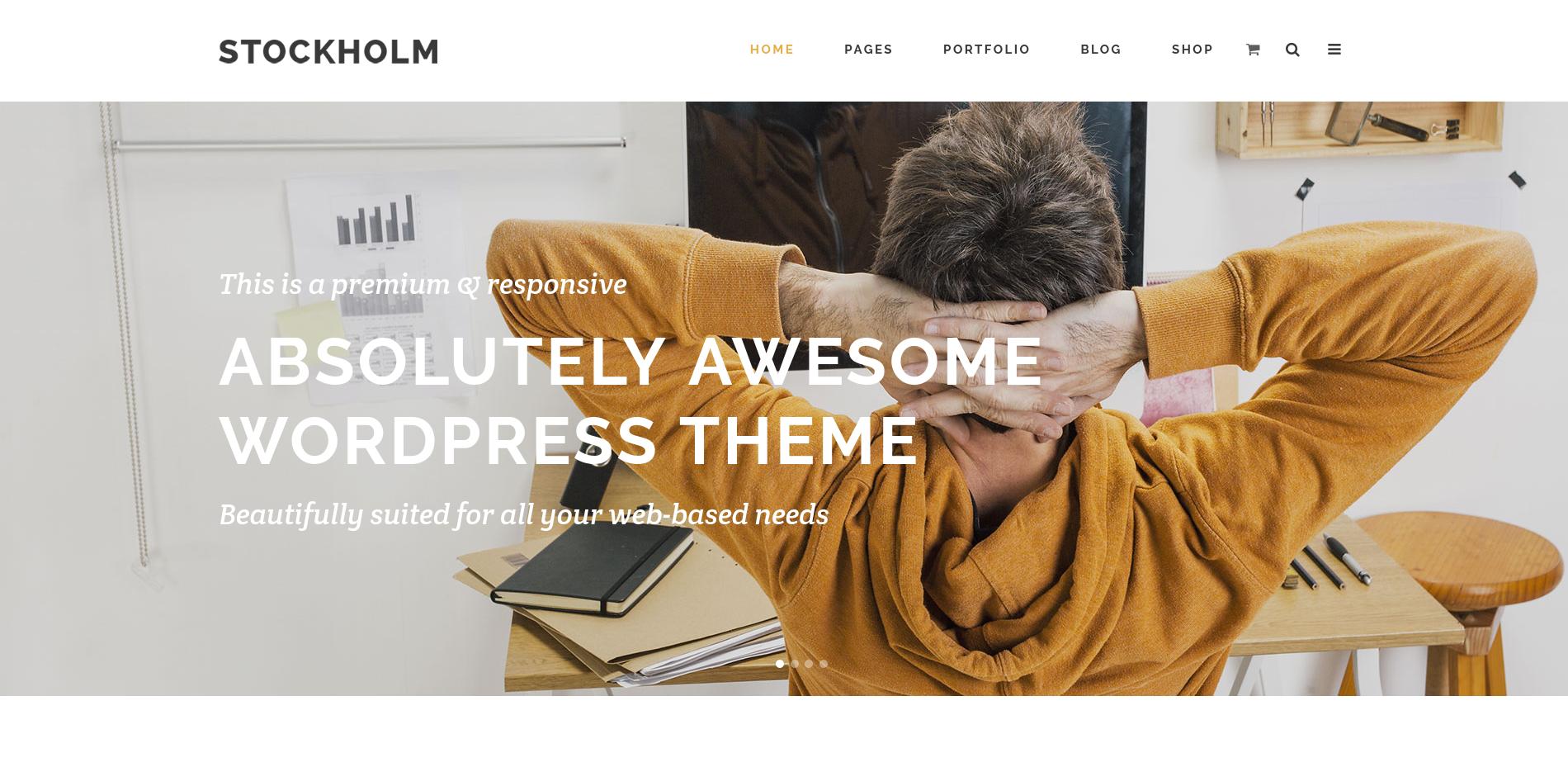 Stockholm Çok Amaçlı WordPress Tema İncelemesi