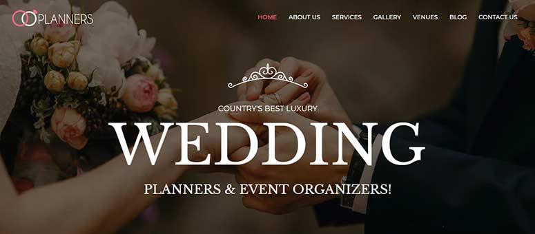 2019'un En İyi 13 WordPress Düğün ve Nişan Temaları