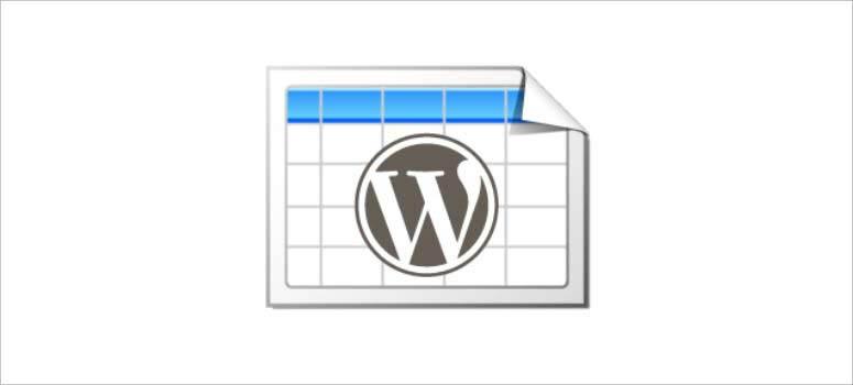 En İyi 10 WordPress Verileri Düzenleme Tablosu Eklentileri