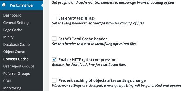 W3 Total Cache WordPress Cache Eklentisi