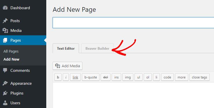 Beaver Builder WordPress Sürükle ve Bırak Sayfa Oluşturucu
