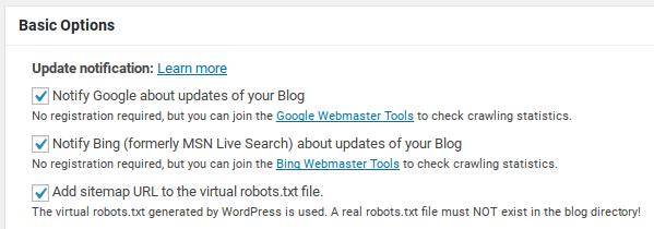 WordPress Google XML Site Haritası Eklentisi