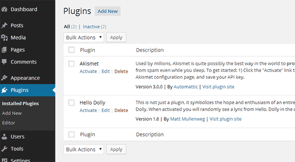 WordPress Eklentisi Nasıl Yüklenir - 3 Yöntem