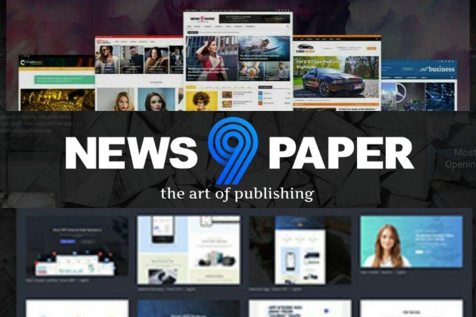 NewsPaper WordPress Haber ve Magazin Teması