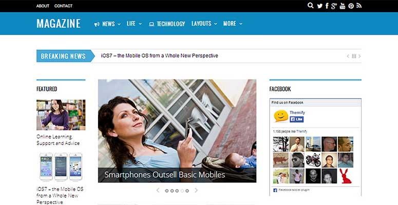 2020'Nin En İyi 13 WordPress Haber ve Blog Temaları