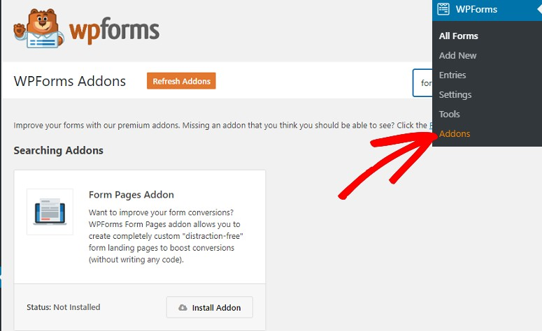 Form templates pack addon