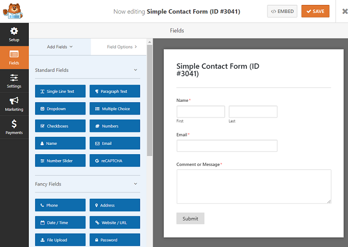"""WordPress'de """"Google Form Stili"""" Formu Nasıl Oluşturulur"""