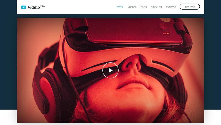 2020'nin En İyi 13 WordPress Video Teması
