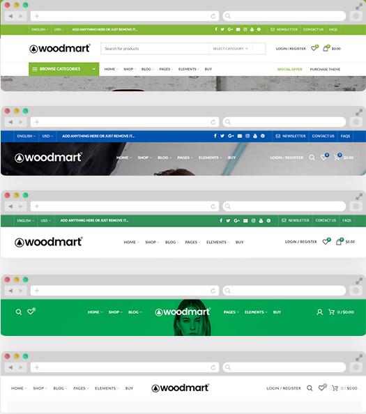 WoodMart: WordPress E-ticaret Teması