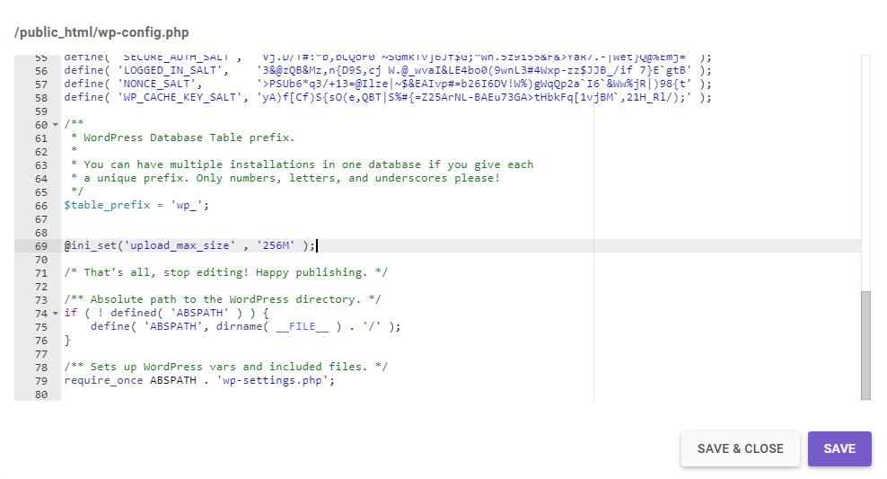 WordPress'te upload_max_filesize Hatası Nasıl Düzeltilir