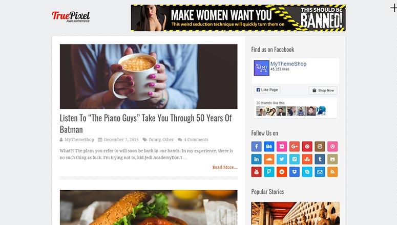 Adsense Uyumlu 13 En İyi Wordpress Temaları