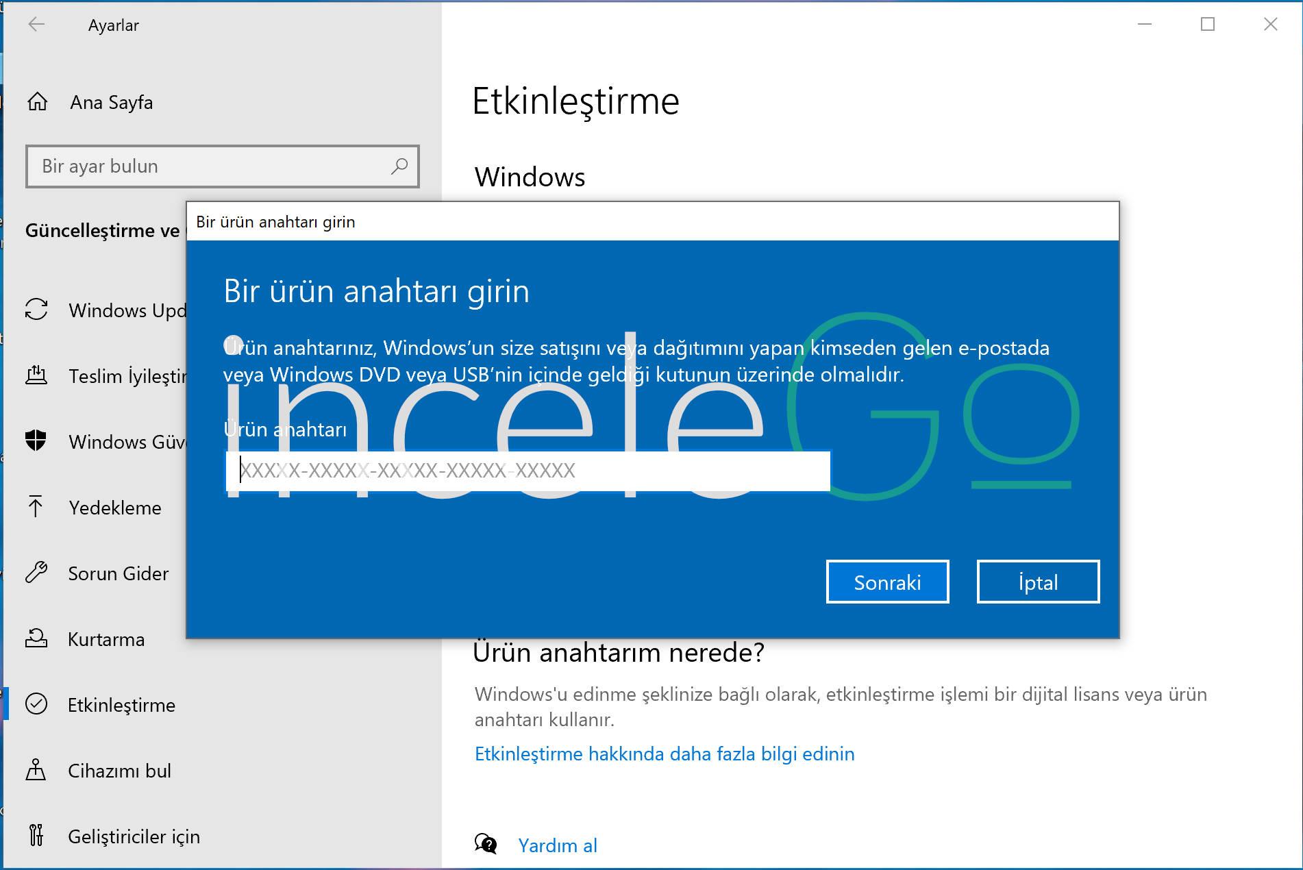 Windows 10 Bedava Etkinleştirme CMD (Programsız)