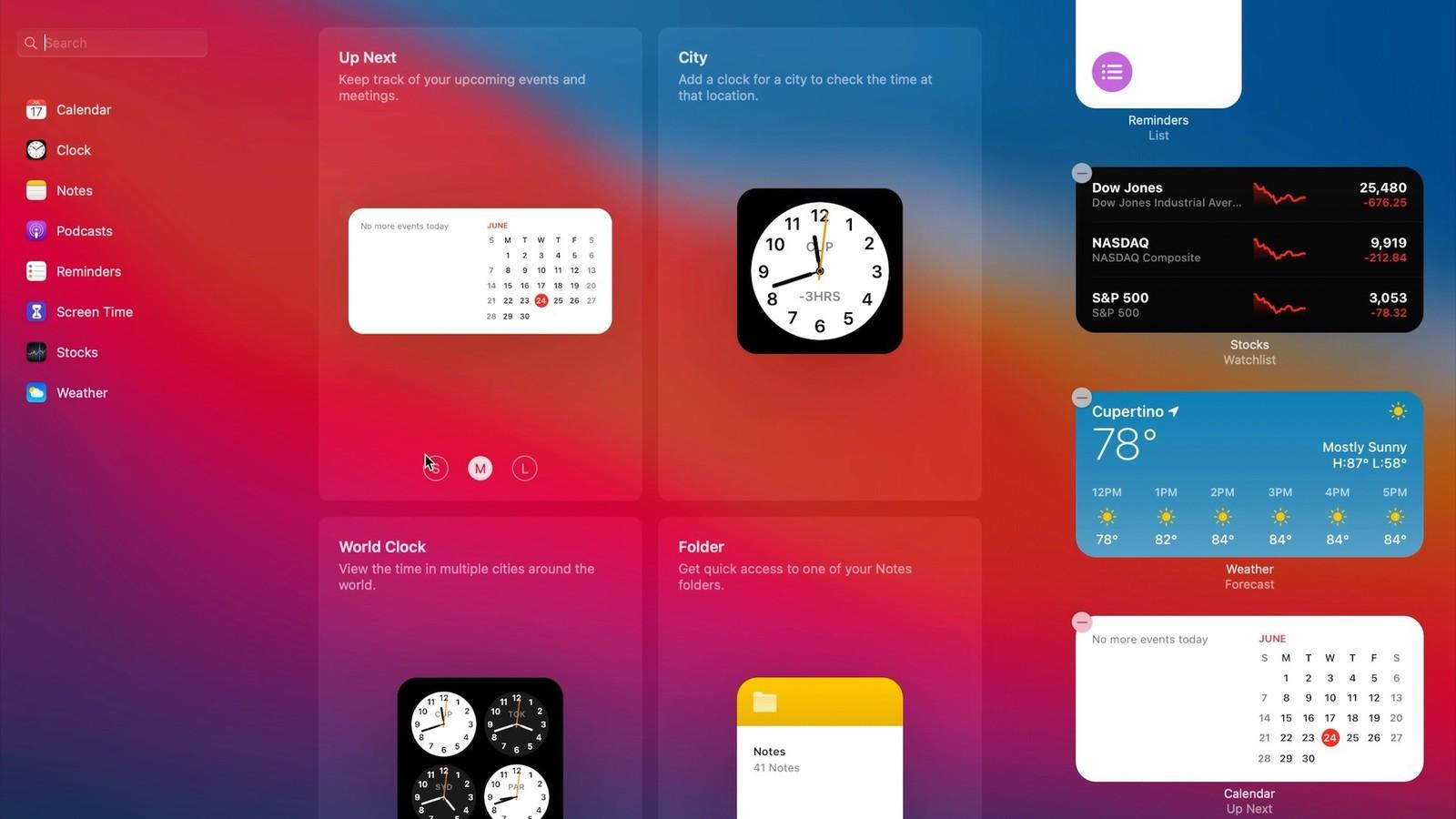 Apple macOS 11 Big Sur Yeni Arayüz Tasarımı