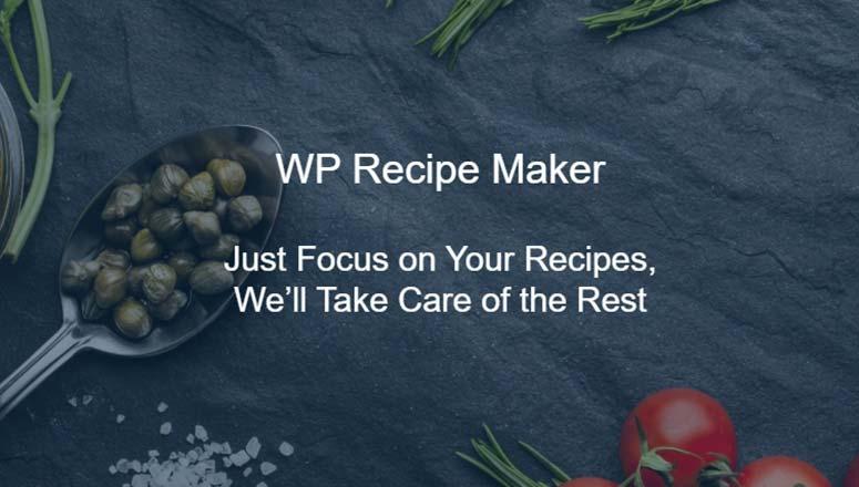 WordPress Yemek Blogunuz İçin En İyi 7 Tarif Eklentisi