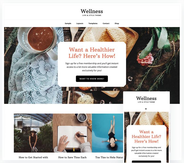 2020'nin En İyi 13 WordPress Yoga Teması