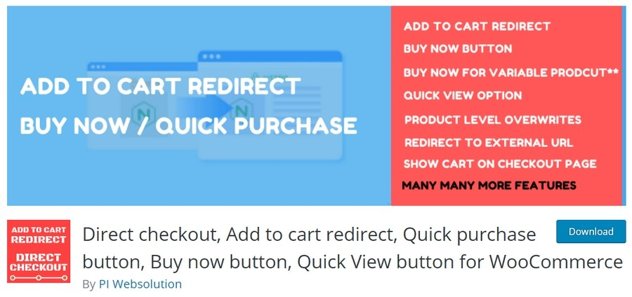 Quick view plugin for WooCommerce