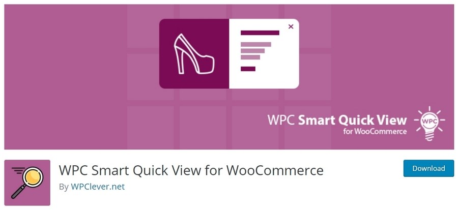 WPC Smart Quick View for WooCommerce plugijn