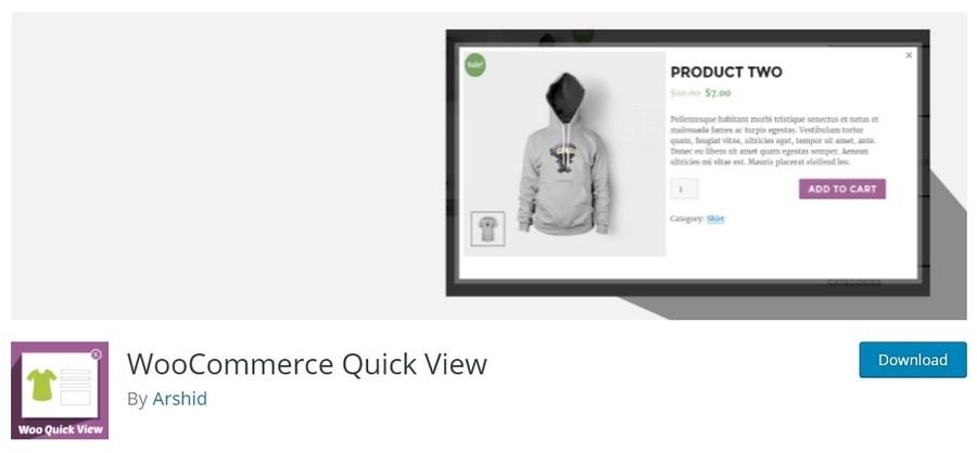 Woocommerce Hızlı Görüntüle Eklentileri (Quick View )