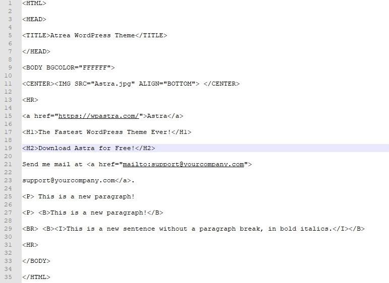 WordPress'e HTML Dosyası Yüklemenin 3 Basit Yolu